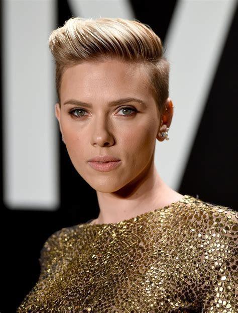 Scarlett Johansson Short Hair Updo Style   Hair World Magazine