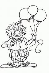Clown Coloring Pages Popular Printable sketch template