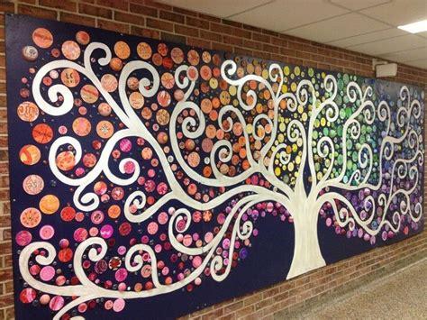 grade project  art room school murals