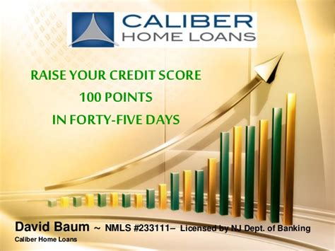 caliber home loans login raise your credit score 100 points in forty five days 48943
