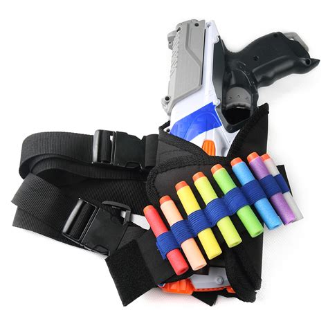 elite tactical vest set ammo pistol blaster holder nerf strike