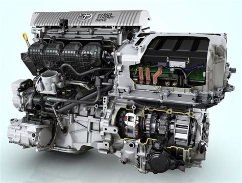 motor de toyota avances tecnológicos de la automoción propulsión híbrida