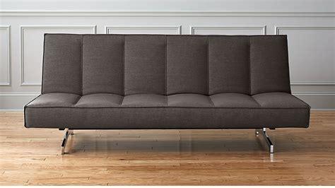 Cb2 Loveseat flex grey sleeper sofa cb2