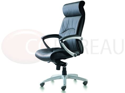 fauteuil direction link cuir dossier haut