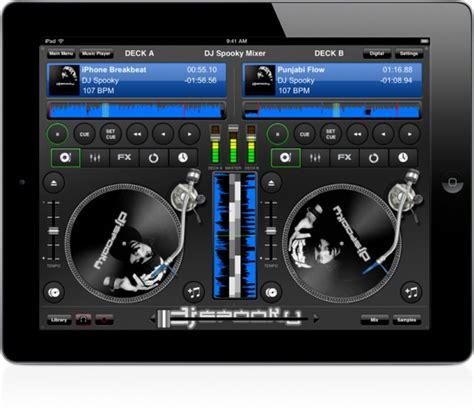 ipad mixing desk app dj spooky mixer a djing app by dj spooky