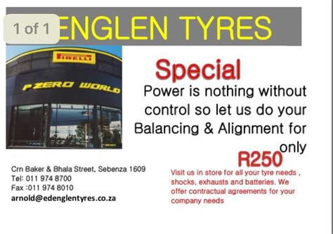 Boat Shop Edenvale by Edenglen Tyre And Exhaust Home