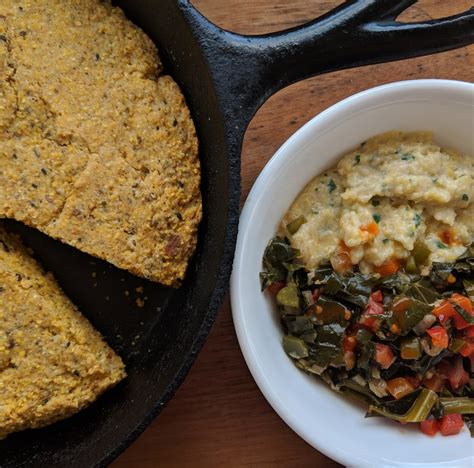 This basic recipe is so easy and forgiving that you may find yourself making cornbread as often as your mother made mashed potatoes lighter cornbread: Cornbread, collard greens, and grits. First time cooking ...