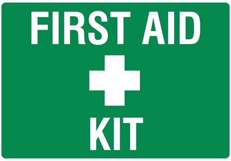 safety box for home safety sign aid kit