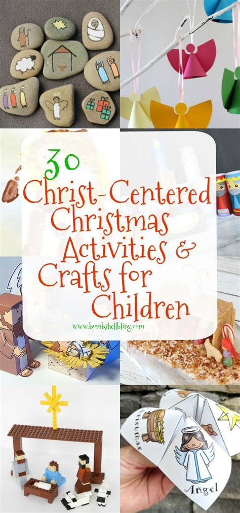 christ centered christmas activities  crafts  kids