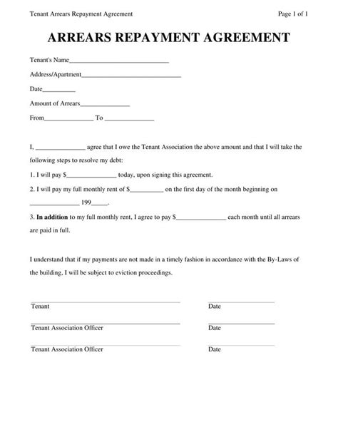 personal loan agreement templates samples word