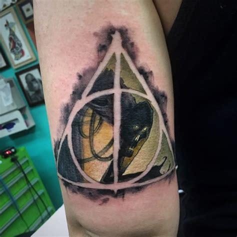 spectacular harry potter tattoos  earthgrasper tattoodo