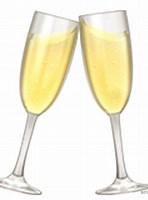 Image result for emoji champagne
