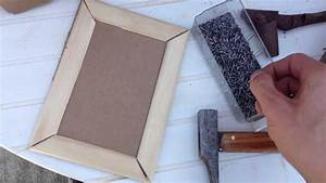 Créer Un Cadre Photo : fabriquer un cadre fabriquer un cadre photo soi m me youtube ~ Melissatoandfro.com Idées de Décoration