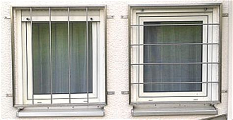 Gebäudesicherung Einbruchschutz Gitter Fenster Türen Tore