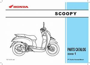 Honda Scoopy Parts Manual