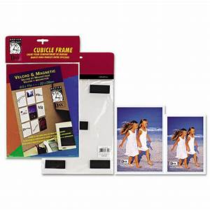 dax n140246mt velcro magnetic cubicle photo document frame With magnetic document frame