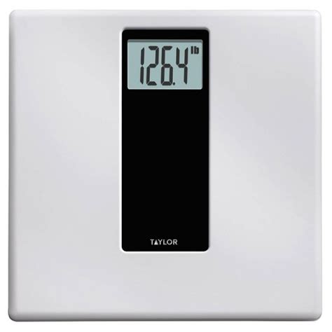 digital bathroom scale whiteblack taylor target
