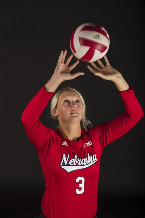 meet   husker volleyball team volleyball