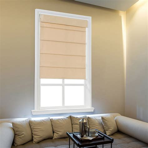 jcpenney home cordless fauxsilk roller roman shades jcpenney