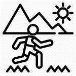 Icon Trail Outdoor Activities Oregon Running Adventure