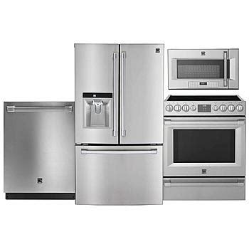 kenmore pro kenmore pro  piece stainless steel kitchen