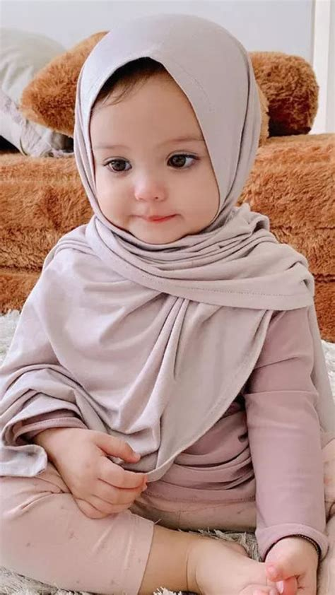 foto anak bayi lucu pakai hijab gambar ngetrend  viral