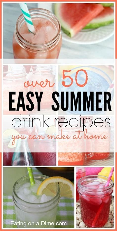 simple summer drink recipes easy summer drinks recipes kid the o jays and summer