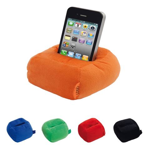 support telephone bureau support iphone smartphone pouf objet publicitaire gourde