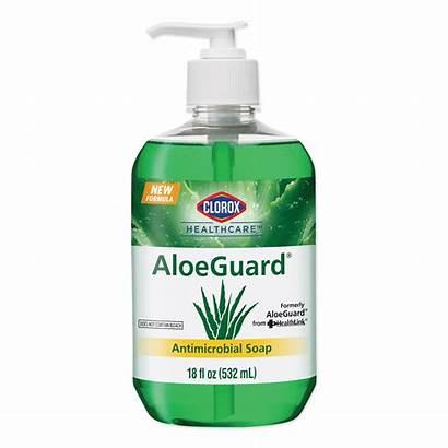 Clorox Soap Antimicrobial Healthcare Bottle Pump Aloe