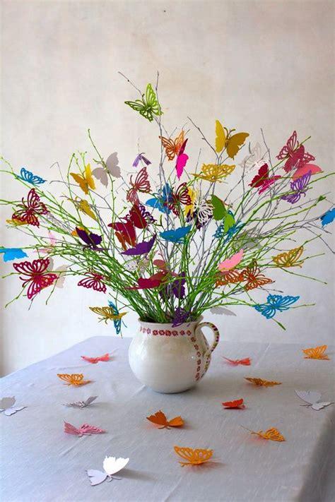 wedding decoration butterflies bouquet  spring
