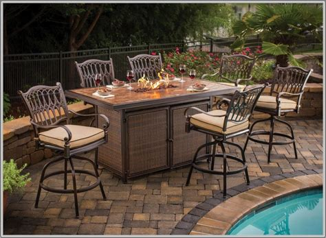 lovable bar style patio sets patio furniture bar height