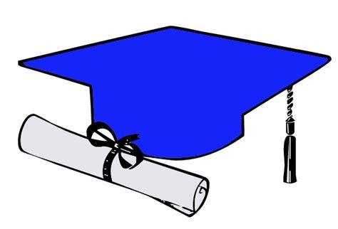 Free Graduation Cap Blue Clipart, Download Free Clip Art