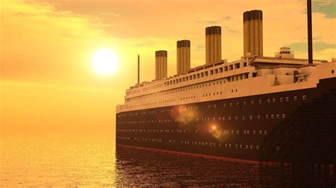 Minecraft Titanic Sinking Mod by Minecraft Rms Titanic Departure Travel And Sinking