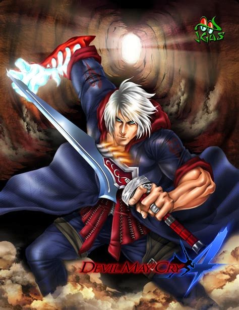 Nero Devil May Cry 4 By Jgass On Deviantart