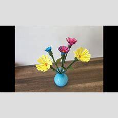 Diy Blumen Basteln, Frühlingsdeko Herstellen, Blumenstrauß