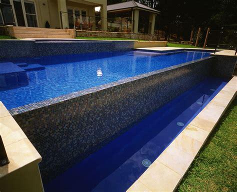 ground infinity edge pool  decorating ideas