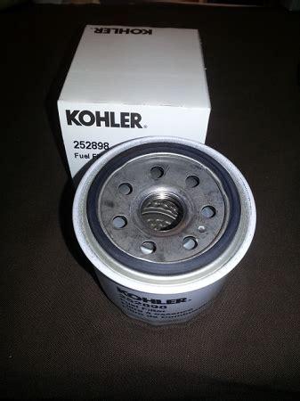 Kohler Fuel Filter by Kohler 252898 Diesel Fuel Filter
