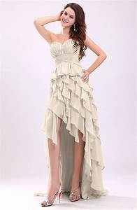 cream gorgeous sweetheart lace up chiffon knee length With cream dresses for a wedding guest