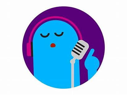 Vector Singer Animation Virgin Gifs Motion Characters