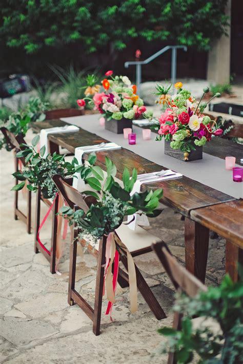 bold garden flower arrangements  wooden boxes