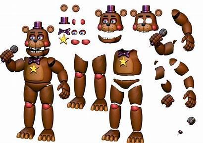 Fnaf Freddy Rockstar Resource Animatronics Five Nights