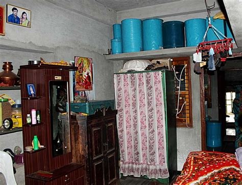 stock pictures interiors  rural homes  india