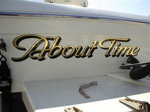 Boat lettering and boat graphics crivello signs inc for Boat lettering graphics