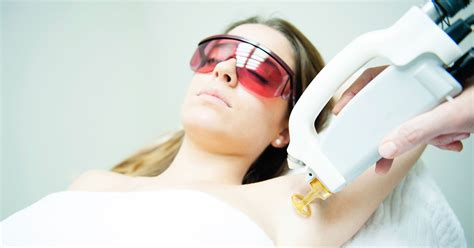 Slow Motion Laser Hair Removal Video