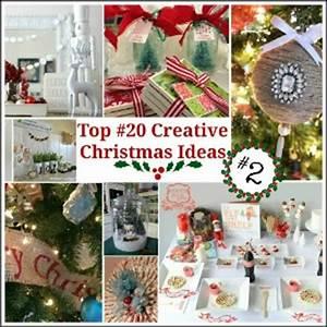 Top 20 Creative Christmas Ideas II Fox Hollow Cottage
