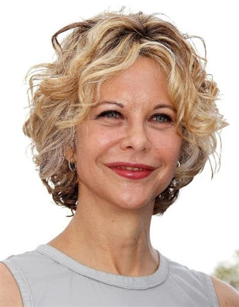 20 best ideas of short haircuts for older women with curly