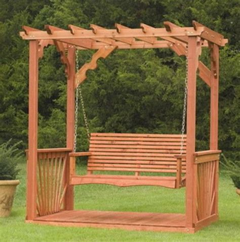 free standing wood porch swings woodworking projects plans