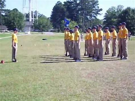 basic leadership academy  alpha armed drill team youtube