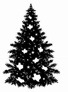 Christmas tree black and white christmas tree with ...