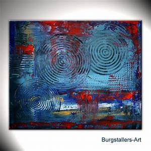 Moderne Kunst Leinwand : burgstaller moderne kunst malerei bilder gem lde leinwand abstrakt expression ebay ~ Sanjose-hotels-ca.com Haus und Dekorationen